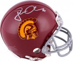 Jordan Cameron USC Trojans Autographed Riddell Mini Helmet - Mounted Memories - Mounted Memories