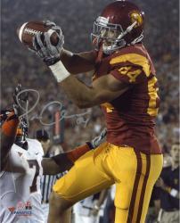 """Jordan Cameron USC Trojans Autographed 8"""" x 10"""" Catch Photograph"""