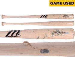 Cameron Maybin San Diego Padres 6/1/14 vs. Chicago White Sox Game-Used Broken Bat