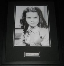 Cammie King Hand Written Framed 11x14 Photo Poster Display Gone With the Wind