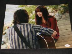 CAMP ROCK Demi Lovato Auto Signed Full Color 11x14 Photo JSA COA  RARE  BC