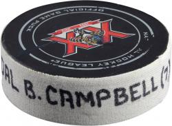 Brian Campbell Florida Panthers 3/14/14 Game-Used Goal Puck vs. New Jersey Devils
