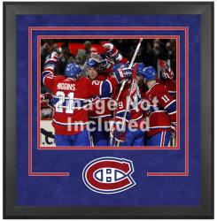 "Montreal Canadiens Deluxe 16"" x 20"" Horizontal Photograph Frame - Mounted Memories"