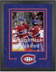 "Montreal Canadiens Deluxe 16"" x 20"" Vertical Photograph Frame - Mounted Memories"