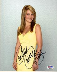 Candace Cameron Bure SIGNED 8x10 Photo Full House Make It or Break It PSA/DNA