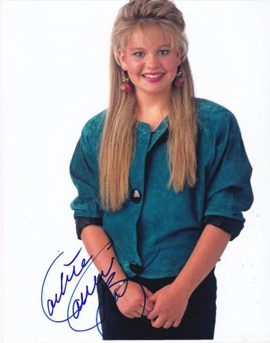 Candace Cameron Signed 8x10 Photo Authentic Autograph Full House Dj Tanner Coa B