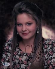 Candace Cameron Signed Full House 8x10 Photo Auto Autograph Beckett BAS #D46513