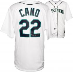 Robinson Cano Autographed Mariners Replica Jersey