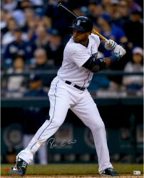 "Robinson Cano Seattle Mariners Autographed 16"" x 20"" Vertical White Jersey Photograph"