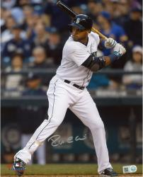 "Robinson Cano Seattle Mariners Autographed 8"" x 10"" Vertical White Uniform Photograph"