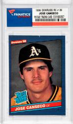 CANSECO, JOSE (1986 DONRUSS RC # 39) CARD - Mounted Memories