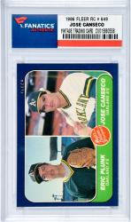 Mou Oak A 86f649 Jose Canseco Rookie Card Mlb Coltrc