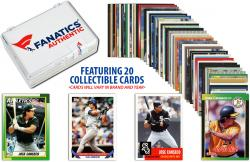 Jose Canseco-Oakland Athletics-Collectible Lot of 20 MLB Trading Cards - Mounted Memories