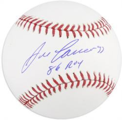 Jose Canseco Oakland Athletics Autographed Baseball with 86 AL ROY Inscription