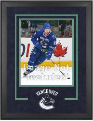 "Vancouver Canucks Deluxe 16"" x 20"" Vertical Photograph Frame"