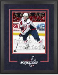 "Washington Capitals Deluxe 16"" x 20"" Vertical Photograph Frame - Mounted Memories"