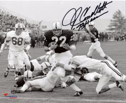 "CAPPELLETTI, JOHN AUTO ""HEISMAN"" (PENN STATE) 8X10 PHOTO - Mounted Memories"
