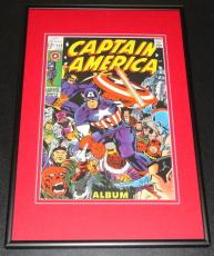 Captain America #112 Framed 10x14 Cover Poster Official Repro