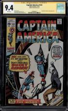 Captain America #131 Cgc 9.4 White Ss Stan Lee Hood App Cgc #1508496017