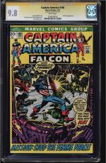 Captain America #146 Cgc 9.8 White Ss Stan Lee Highest Graded  #1206678020