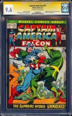 Captain America #147 Oww Cgc 9.6 Ss Stan Lee Sig Series Cgc #1283488011