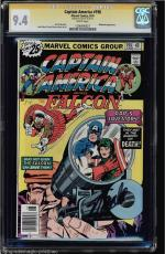 Captain America #198 Cgc 9.4 White Stan Lee Ss Highest Graded #1206490027