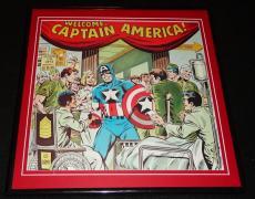 Captain America 1981 ORIGINAL Framed 12x12 Marvel Poster
