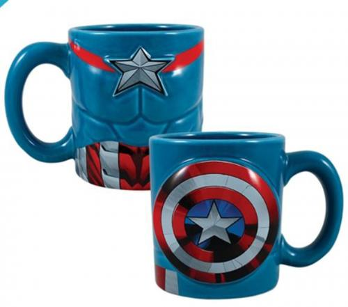 Captain America 20oz. Sculpted Mug
