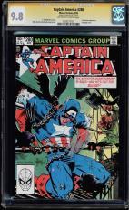 Captain America #280 Cgc 9.8 Oww Ss Stan Lee Highest Graded Cgc #1203277021