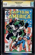 Captain America #312 Cgc 9.8 White Ss Stan Lee Single Highest Graded #1191288001