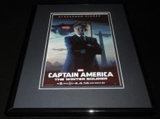 Captain America Winter Soldier Framed 11x14 Poster Display Robert Redford
