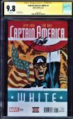 Captain America:white #1 Cgc 9.8 Ss Stan Lee Variant Edition Cgc #1508494001