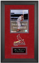 "St. Louis Cardinals Deluxe 8"" x 10"" Team Logo Frame - Mounted Memories"