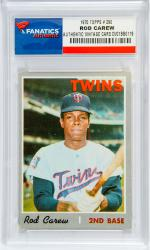 Rod Carew Minnesota Twins 1970 Topps #290 Card - Mounted Memories