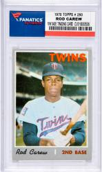 Mou Twins Rod Carew Trading Card Mlb Coltrc --