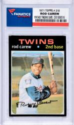 Mou Twins Rod Carew Trading Card Mlb Coltrc -