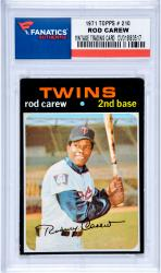 Rod Carew Minnesota Twins 1971 Topps #210 Card 2