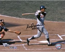 Rod Carew Minnesota Twins Autographed 8'' x 10'' Horizontal Swing Photograph With HOF 91 Inscription