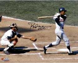 Rod Carew Minnesota Twins Autographed 16x20 Photo - HOF 91