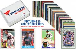 Rod Carew-Minnesota Twins-Collectible Lot of 20 MLB Trading Cards - Mounted Memories