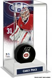 Carey Price Montreal Canadiens Deluxe Tall Hockey Puck Case