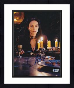Carice Van Houten Signed 8x10 Photo Game Of Thrones Beckett Bas Autograph Auto D
