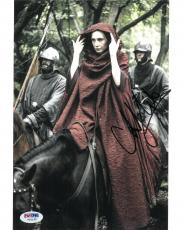 Carice Van Houten Signed Game of Thrones Autographed 8x10 Photo PSA/DNA #V90195