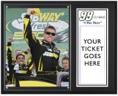 Carl Edwards 2013 Subway Fresh Fit 500 Sublimated 12'' x 15'' I Was There Plaque - Mounted Memories