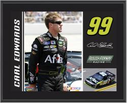 "Carl Edwards 10"" x 13"" Sublimated Plaque - Mounted Memories"