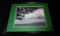 Carl Edwards Talladega Crash Framed 8x10 Photo Poster