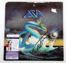 Carl Palmer Signed LP Record Album Asia Debut Album w/ JSA AUTO