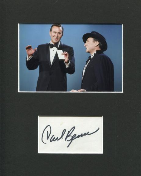 Carl Reiner Ocean's Eleven Dick Van Dyke Show Signed Autograph Photo Mel Brooks