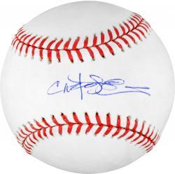 Carlos Pena Autographed Baseball