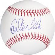 Carlton Fisk Autographed Baseball